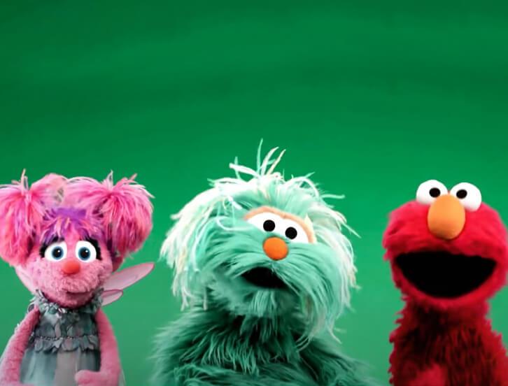 Abby, Rosita, Elmo