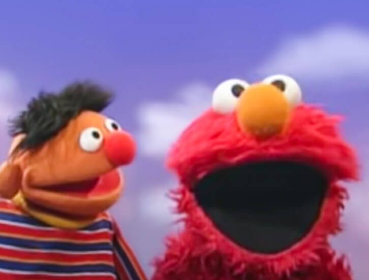 Ernie and Elmo