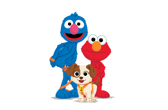 FFF Elmo Grover Tango
