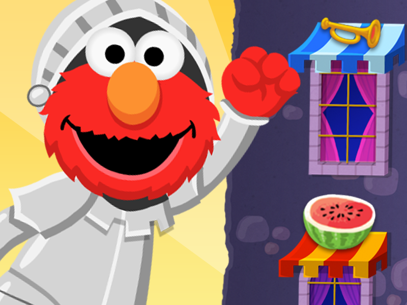 Bouncy Elmo's Castle